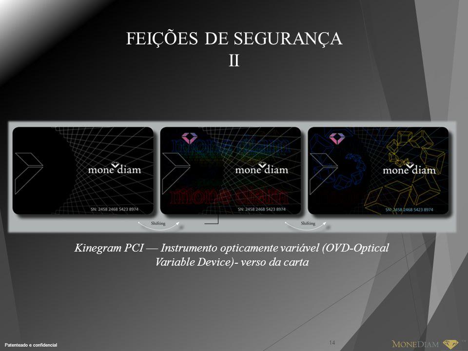 FEIÇÕES DE SEGURANÇA II