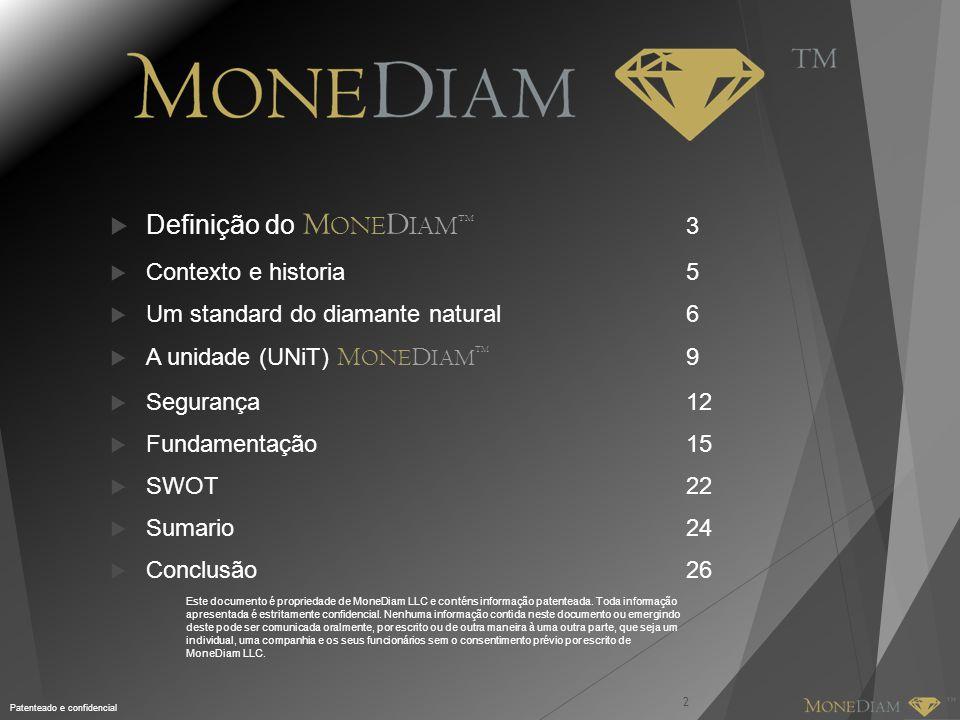Definição do MONEDIAMTM 3