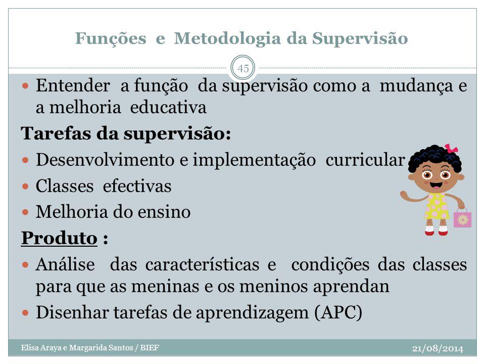 Funções e Metodologia da Supervisão