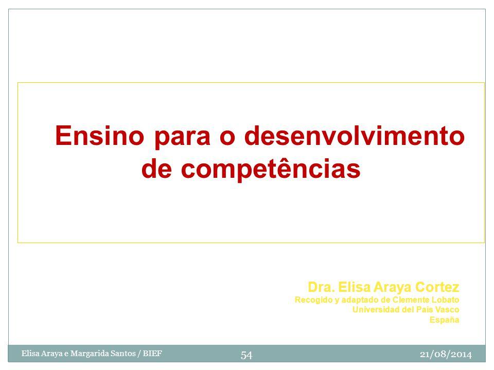 EEnsino para o desenvolvimento de competências