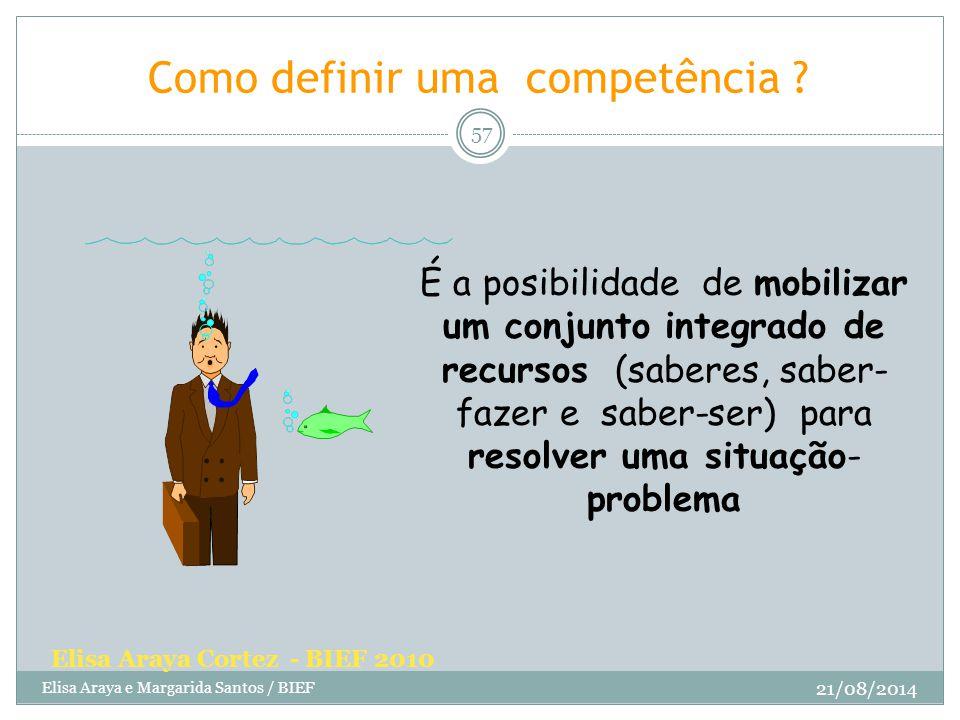 Como definir uma competência