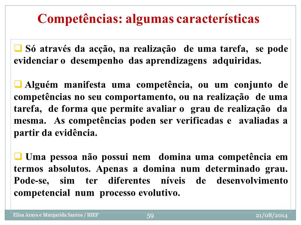 Competências: algumas características