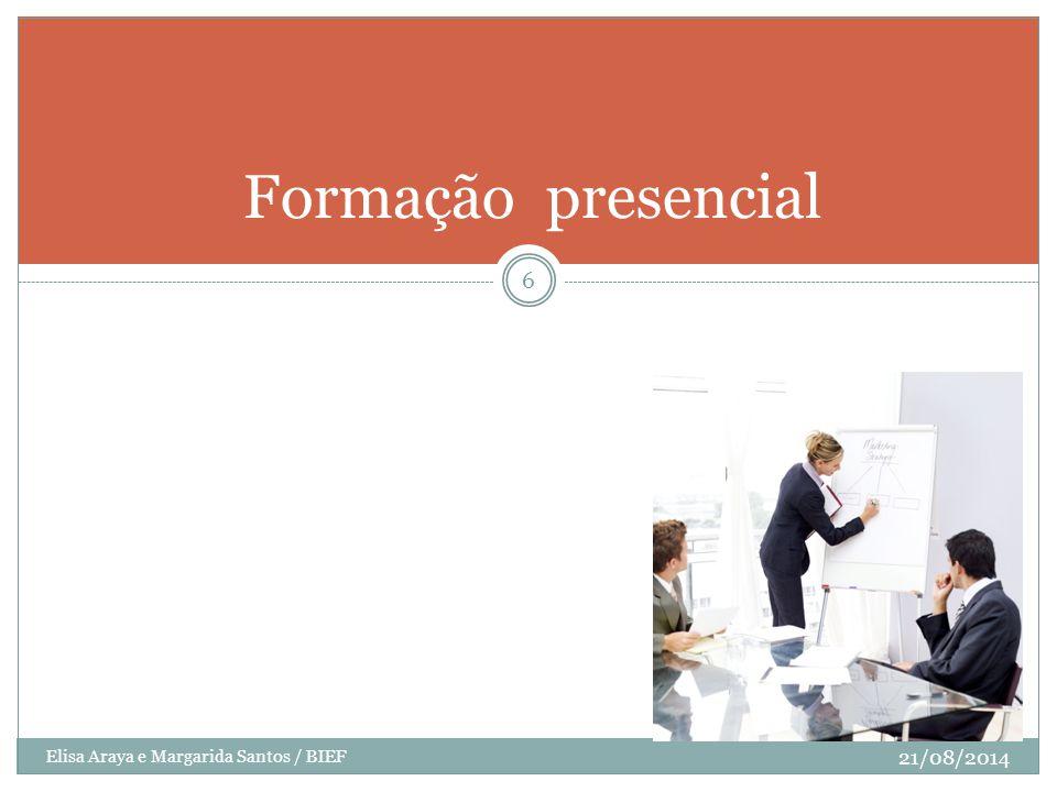 Formação presencial Elisa Araya e Margarida Santos / BIEF 05/04/2017