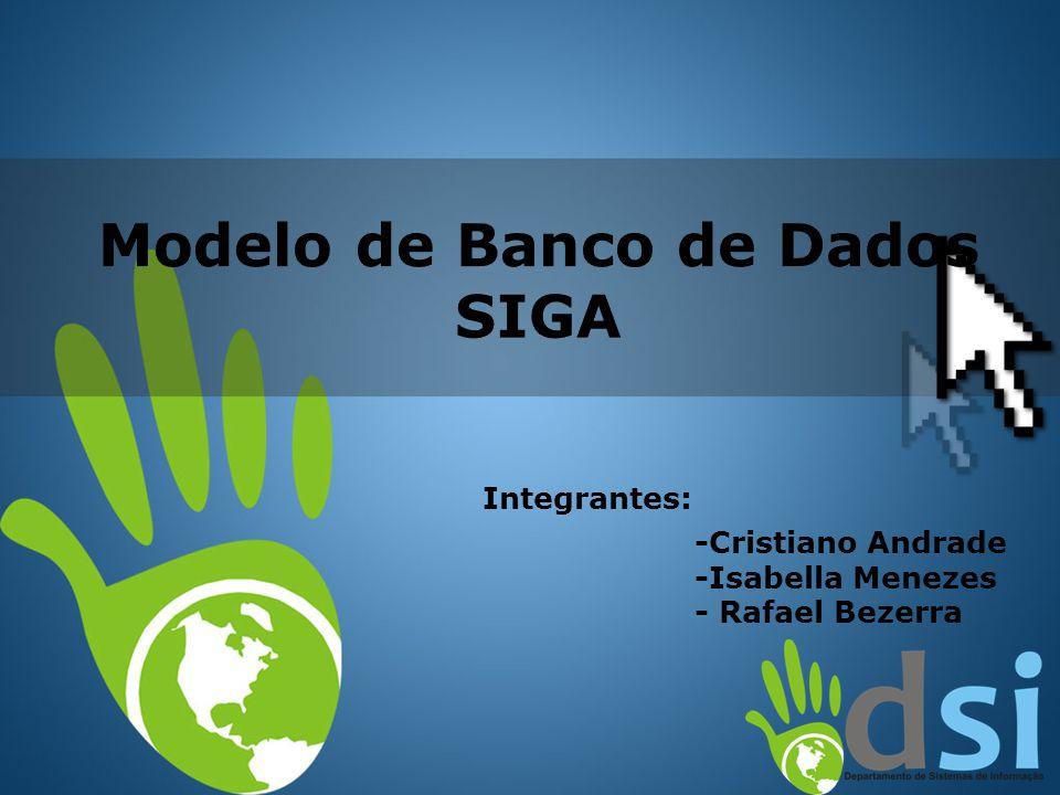 Modelo de Banco de Dados