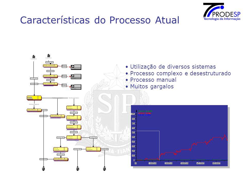 Características do Processo Atual