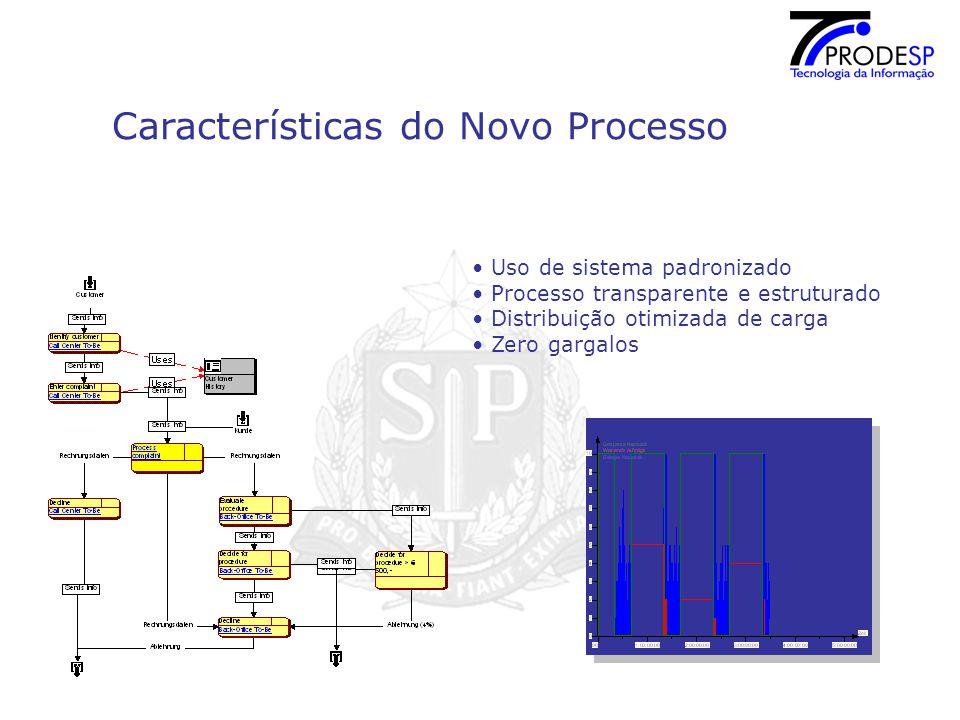 Características do Novo Processo