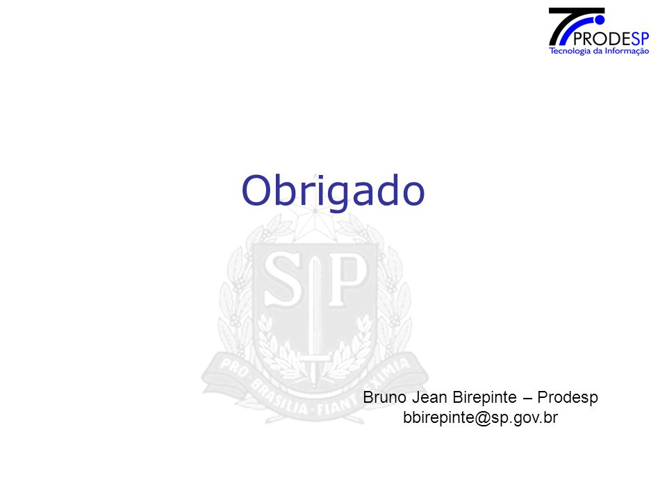 Bruno Jean Birepinte – Prodesp