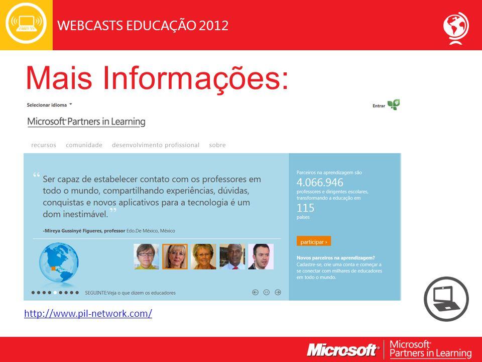 Mais Informações: http://www.pil-network.com/