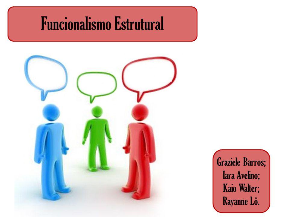 Funcionalismo Estrutural