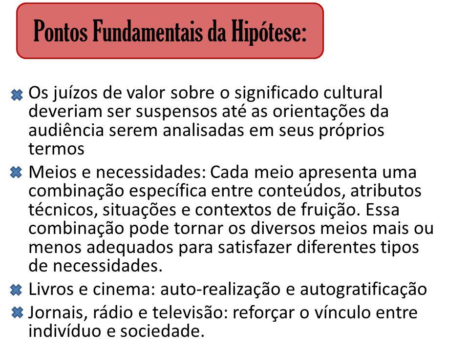 Pontos Fundamentais da Hipótese: