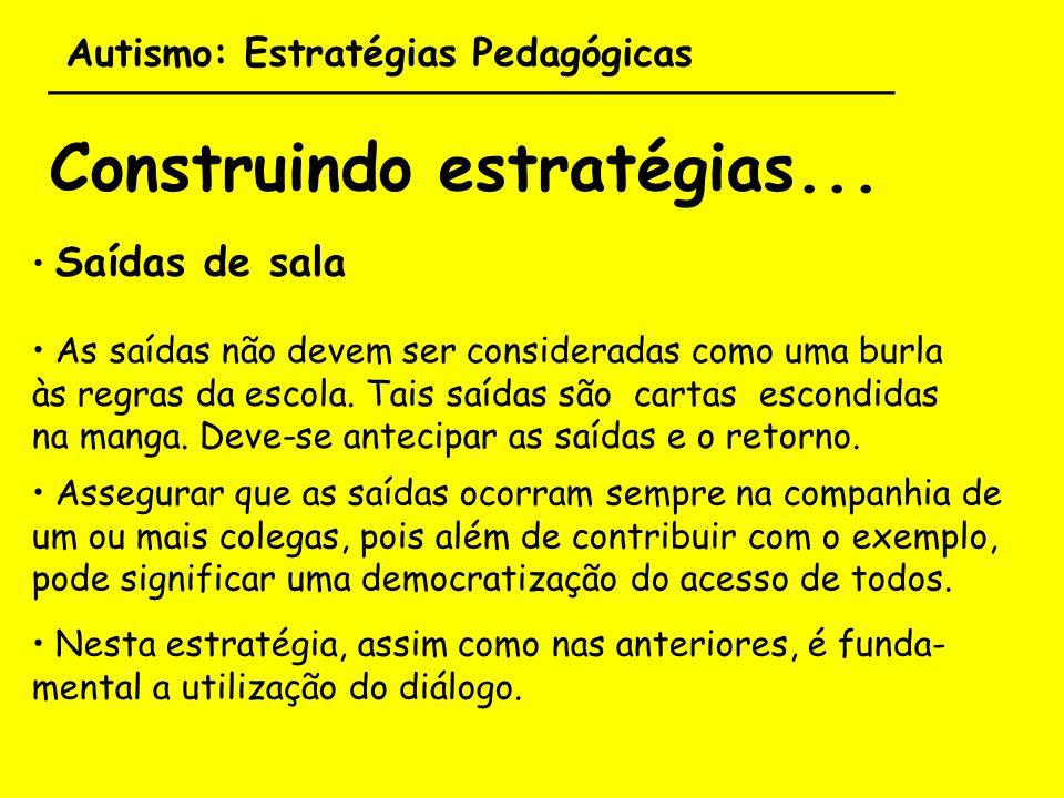 Autismo: Estratégias Pedagógicas ___________________________________