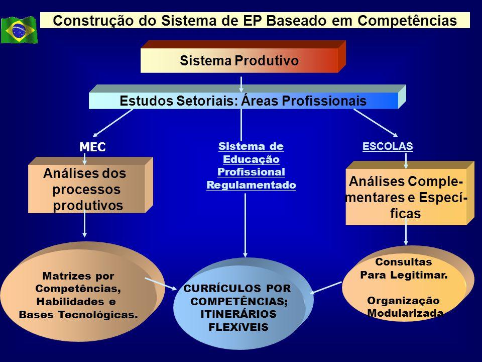 Construção do Sistema de EP Baseado em Competências
