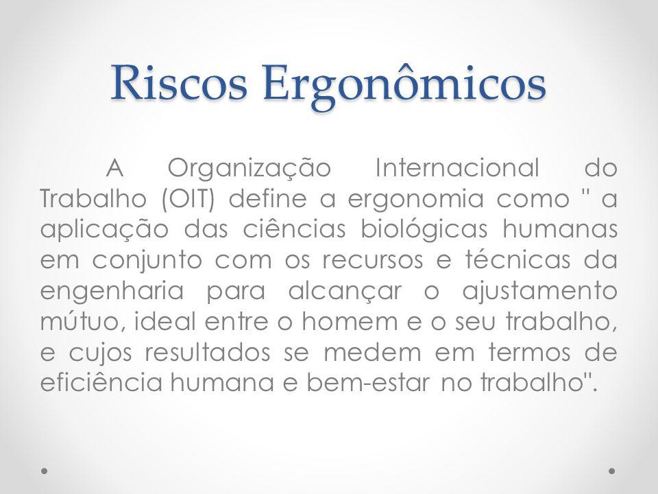 Riscos Ergonômicos