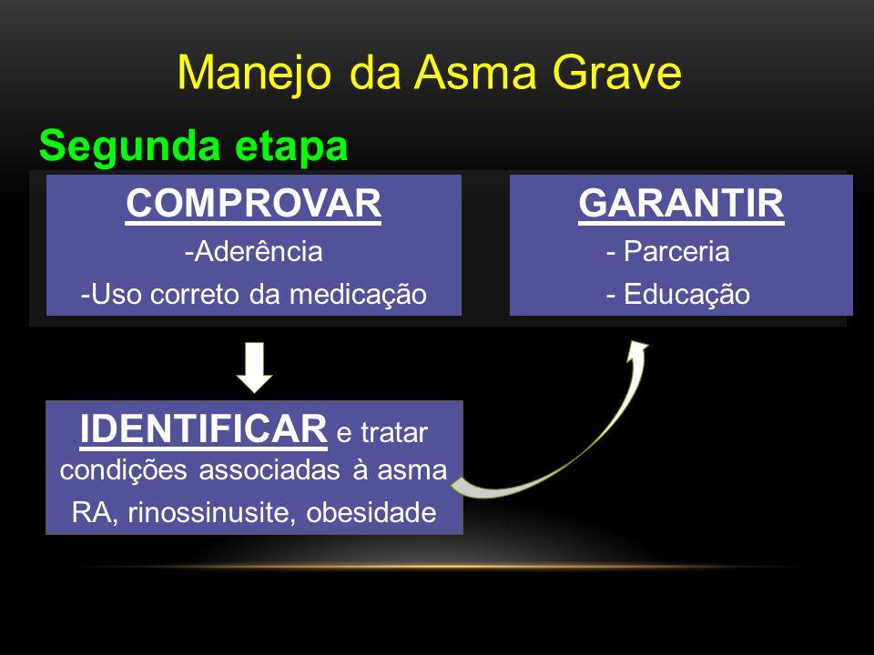 Manejo da Asma Grave Segunda etapa COMPROVAR GARANTIR