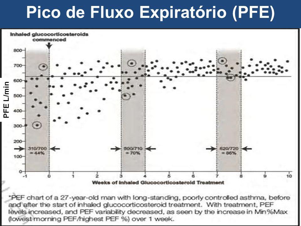 Pico de Fluxo Expiratório (PFE)