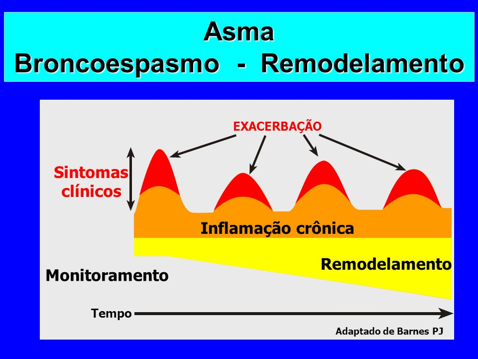 Asma Broncoespasmo - Remodelamento