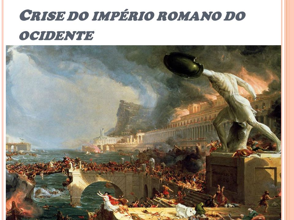 Crise do império romano do ocidente