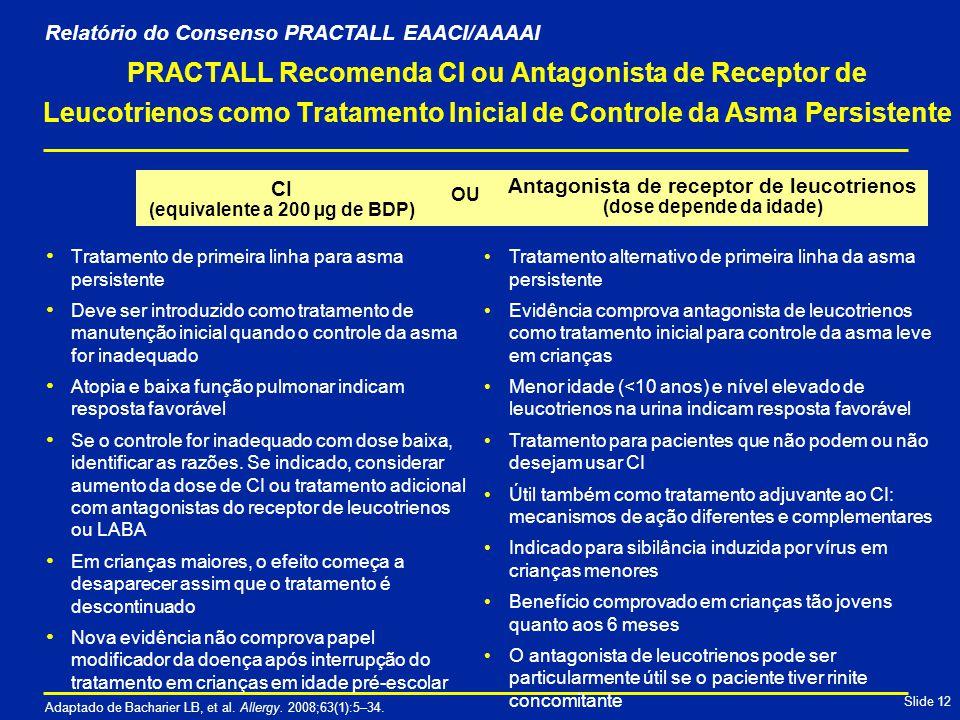 Relatório do Consenso PRACTALL EAACI/AAAAI
