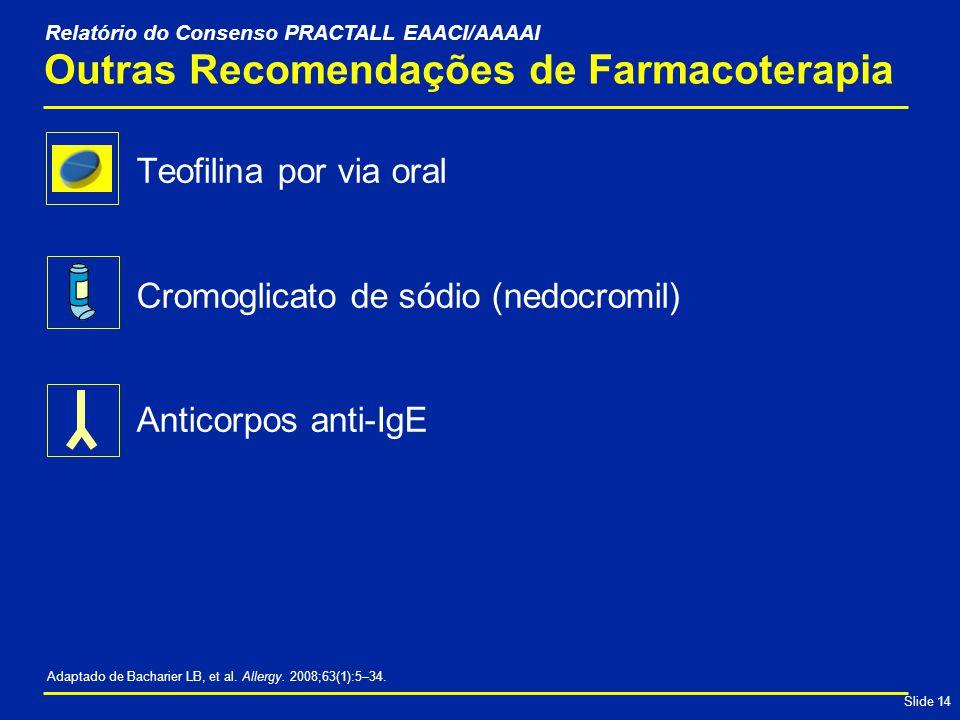 Outras Recomendações de Farmacoterapia