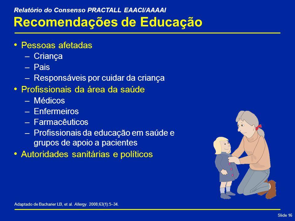 Recomendações de Educação