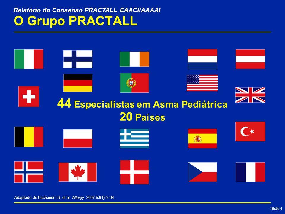 44 Especialistas em Asma Pediátrica