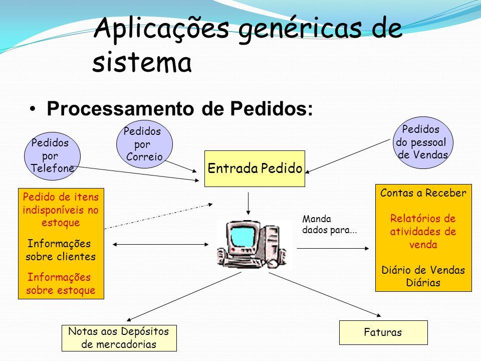 Aplicações genéricas de sistema
