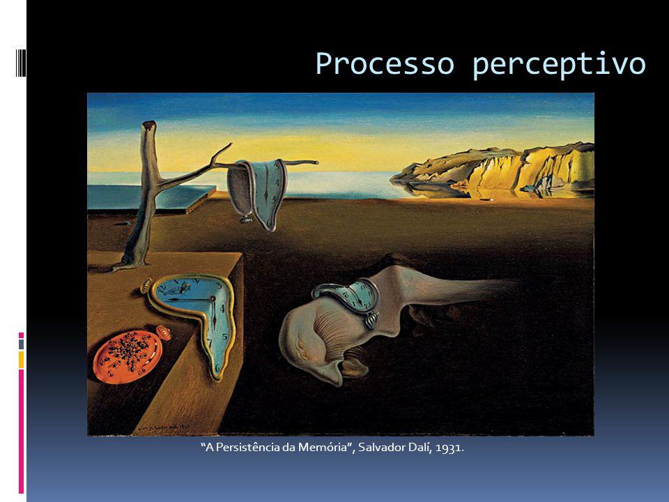 Processo perceptivo A Persistência da Memória , Salvador Dalí, 1931.