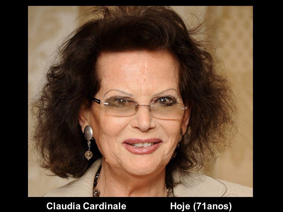 Claudia Cardinale Hoje (71anos)