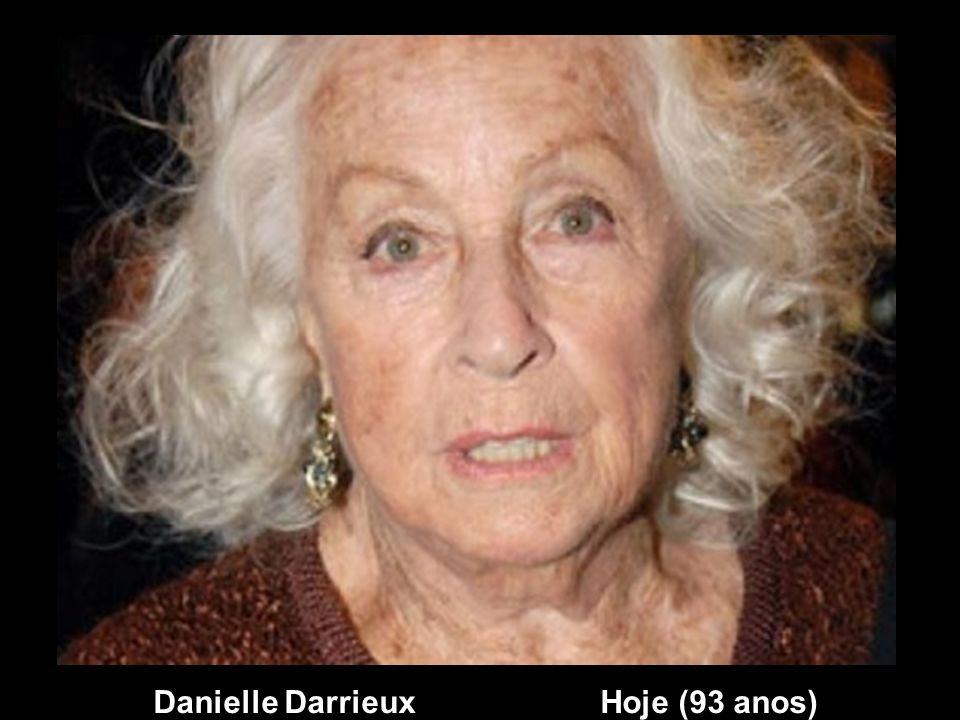 Danielle Darrieux Hoje (93 anos)