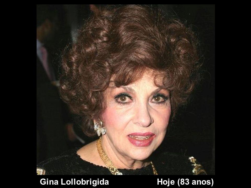 Gina Lollobrigida Hoje (83 anos)