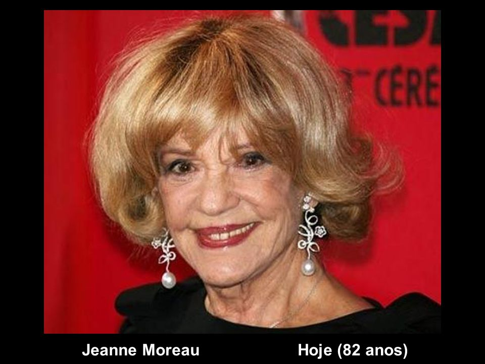 Jeanne Moreau Hoje (82 anos)