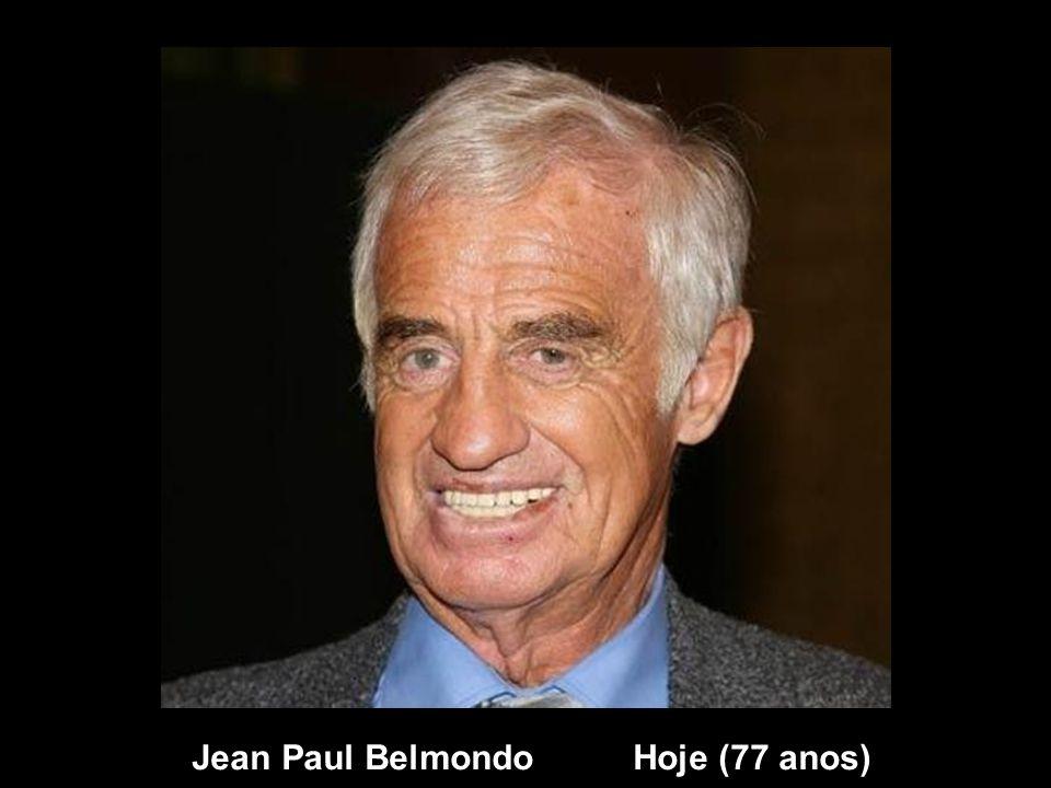 Jean Paul Belmondo Hoje (77 anos)