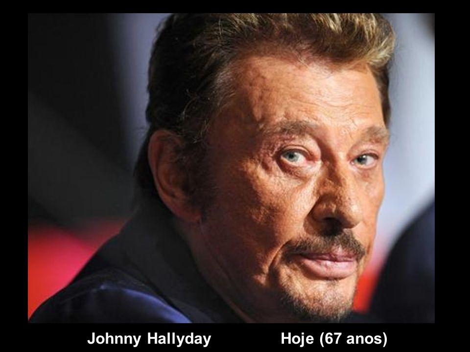 Johnny Hallyday Hoje (67 anos)