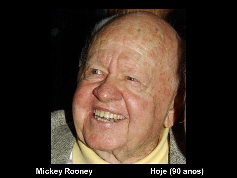 Mickey Rooney Hoje (90 anos)