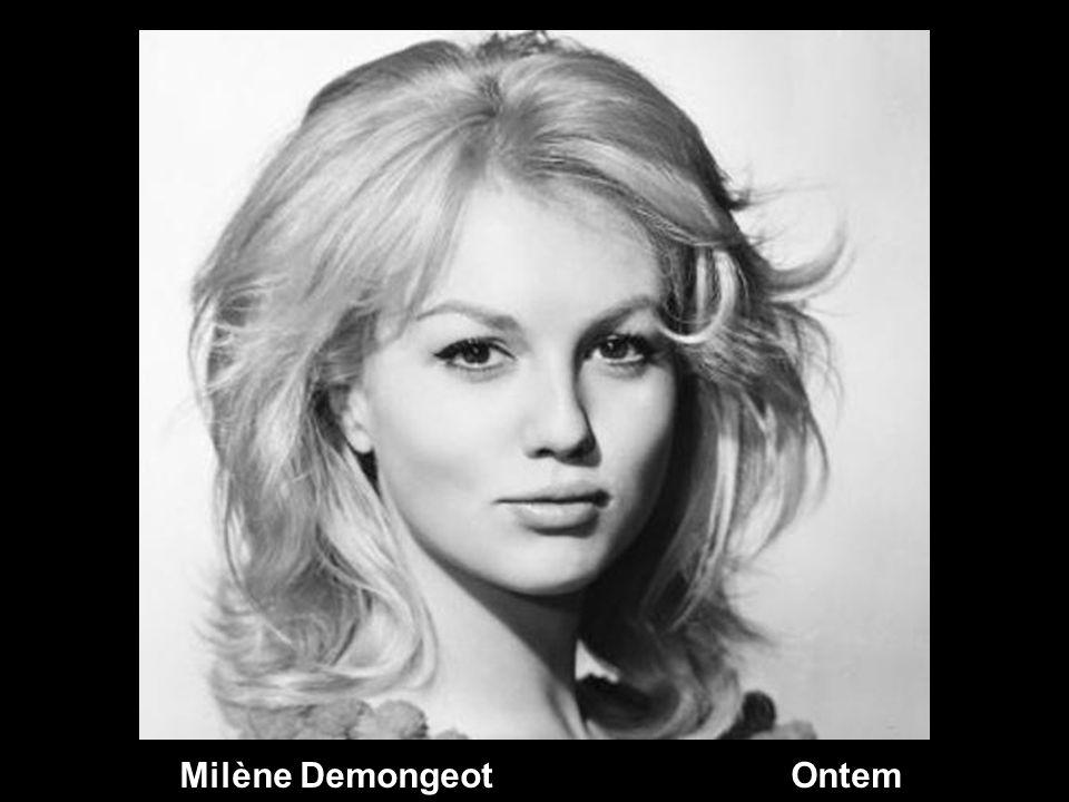 Milène Demongeot Ontem