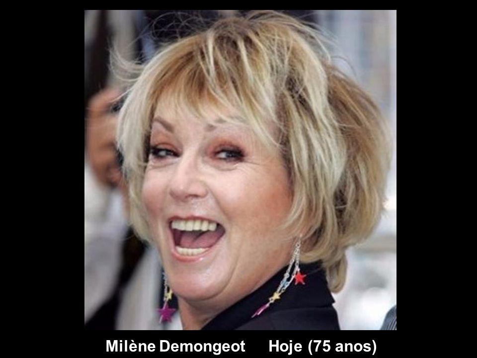 Milène Demongeot Hoje (75 anos)