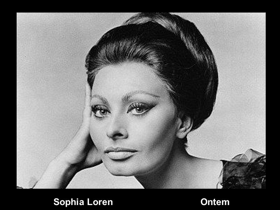 Sophia Loren Ontem