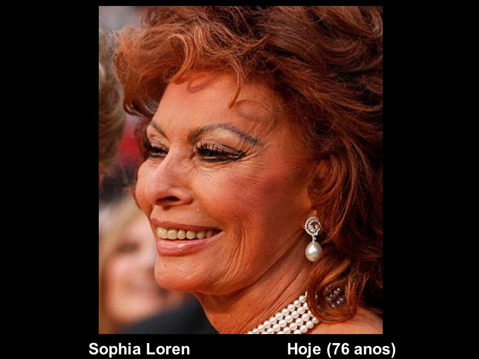 Sophia Loren Hoje (76 anos)