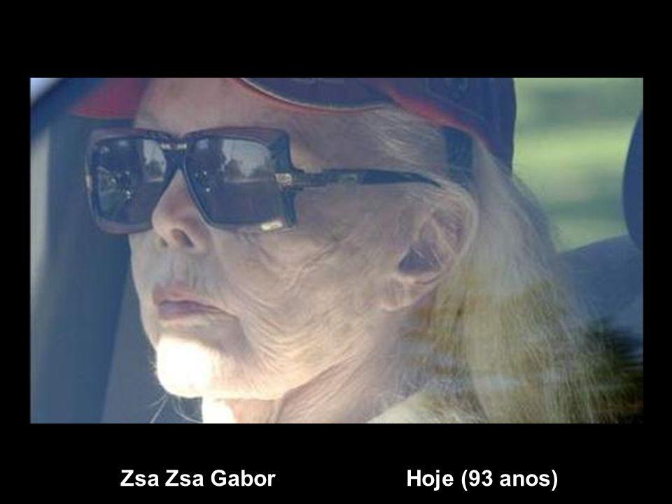 Zsa Zsa Gabor Hoje (93 anos)