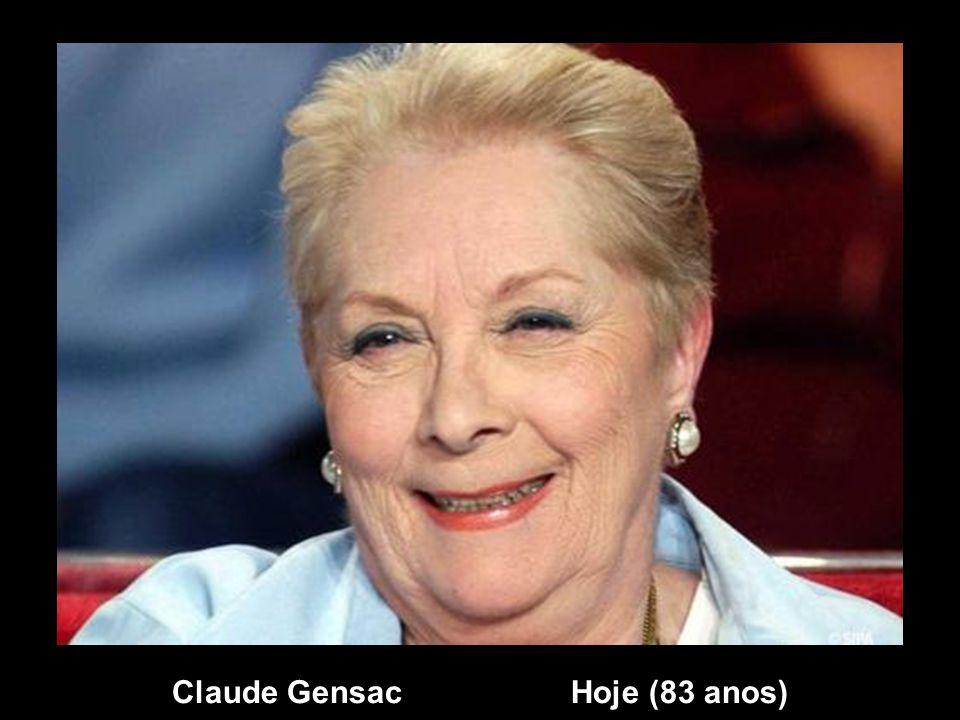 Claude Gensac Hoje (83 anos)