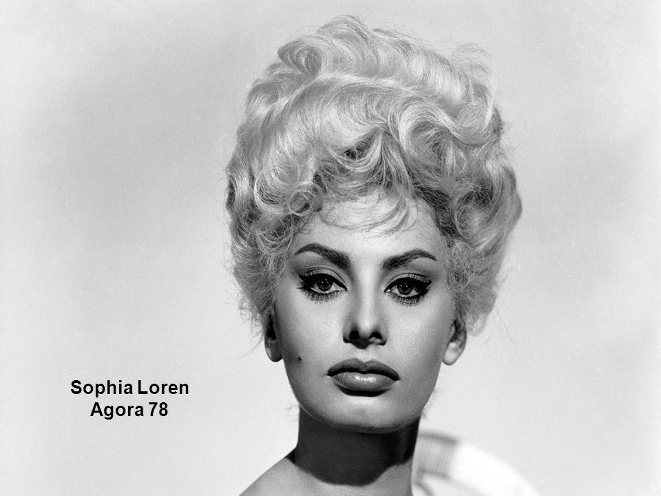 Sophia Loren Agora 78