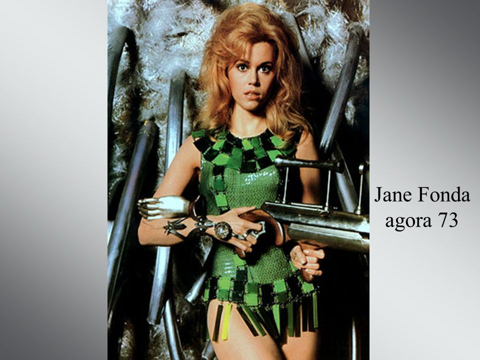 Jane Fonda agora 73