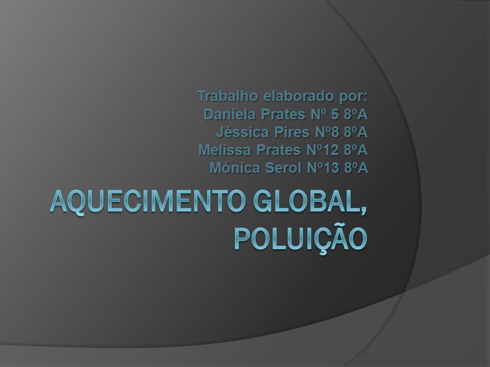 AQUECIMENTO GLOBAL, POLUIÇÃO