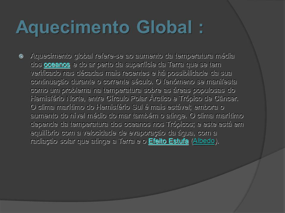 Aquecimento Global :