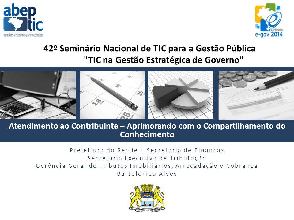 TIC na Gestão Estratégica de Governo