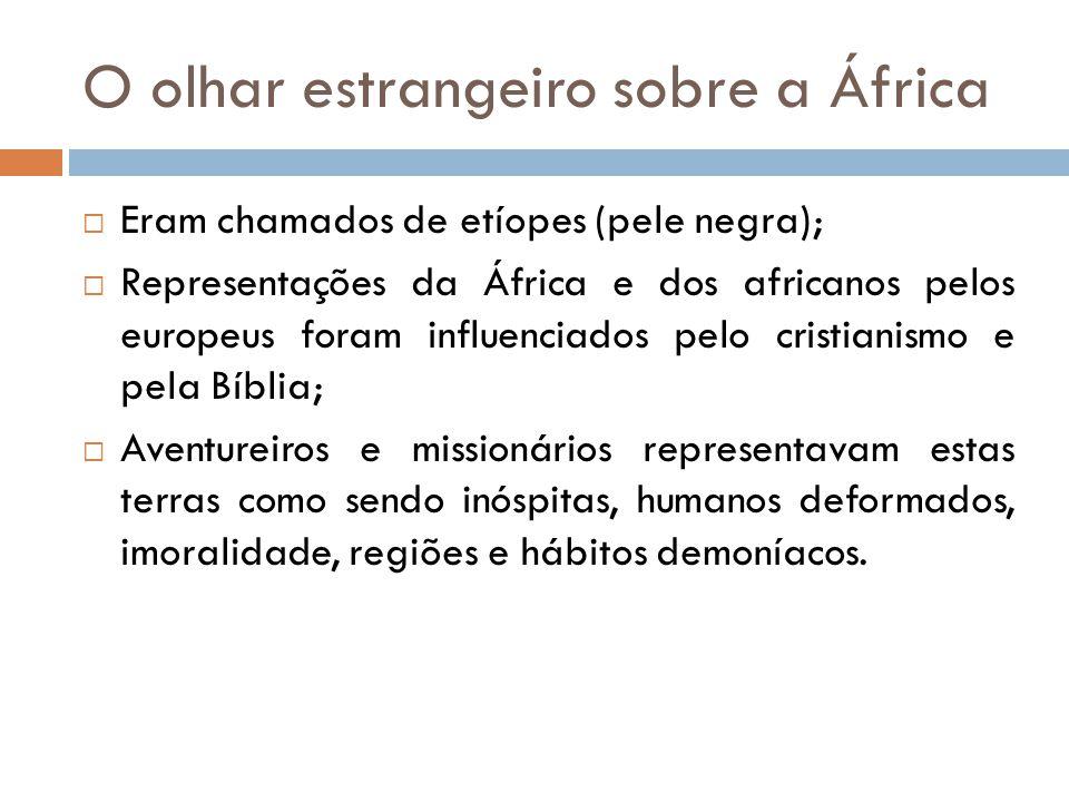 O olhar estrangeiro sobre a África