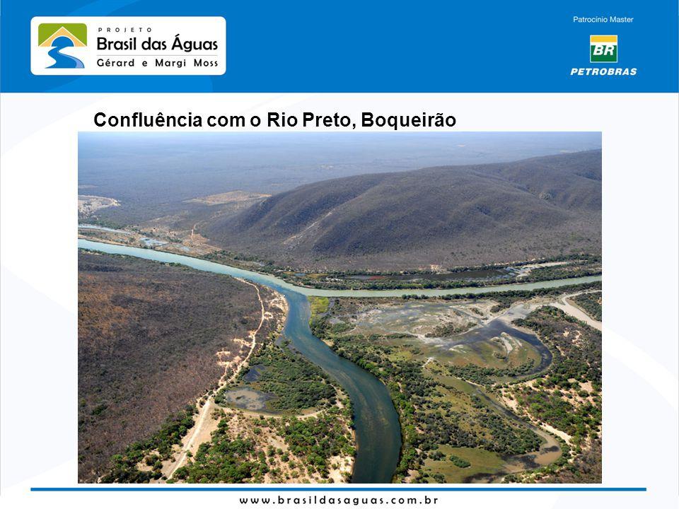 Confluência com o Rio Preto, Boqueirão