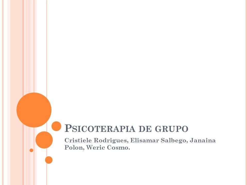 Cristiele Rodrigues, Elisamar Salbego, Janaina Polon, Weric Cosmo.