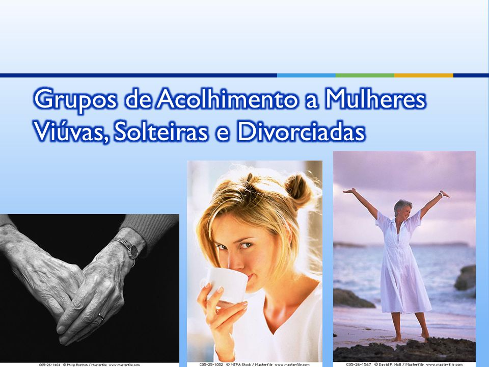Grupos de Acolhimento a Mulheres Viúvas, Solteiras e Divorciadas