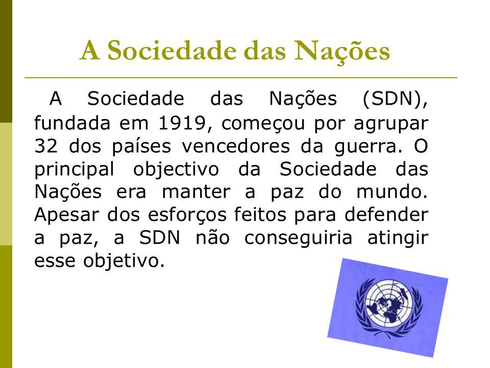 A Sociedade das Nações